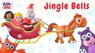 Jingle Bells | Nursery Rhymes & Baby Songs | Polly Olly