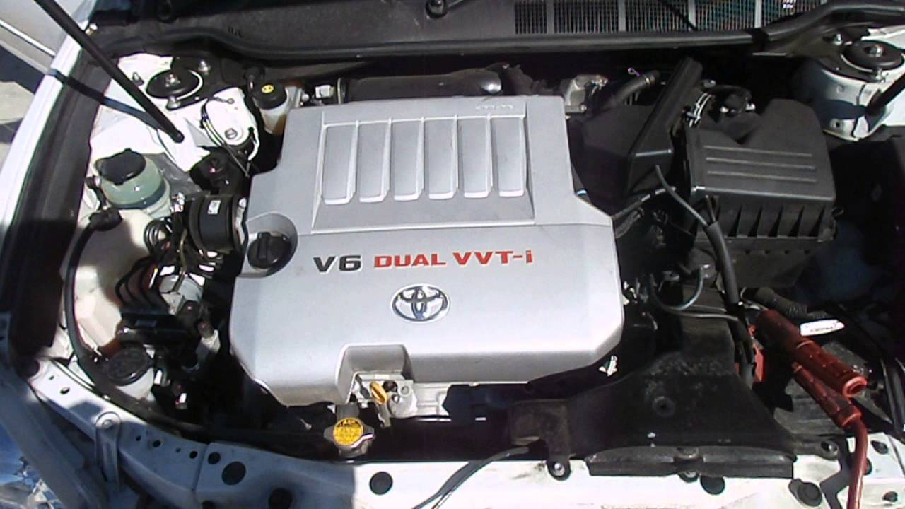 WRECKING 2007 TOYOTA AURION ENGINE 35 V6, 2GR (J13452