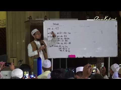 20180113-Adi Hidayat Lc MA-Shah Alam | Ujian Ummat Di Akhir Zaman
