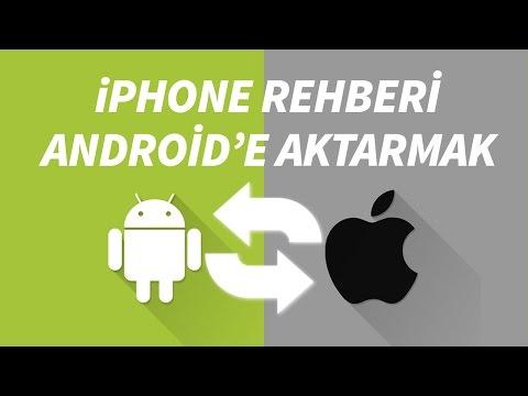 IPhone'dan Android'e Rehberi Birebir Aktarma #iPhoneDestek