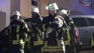 Kellerbrand in der Ewaldstraße – Feuerwehr durch Sirenen alarmiert