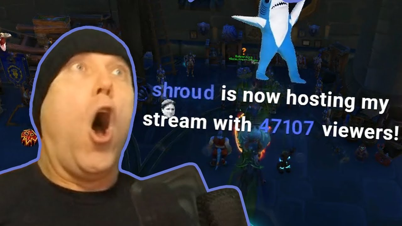 Swifty Reacts to HUGE HOST from Shroud During Live Stream