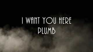 I WANT YOU HERE-PLUMB