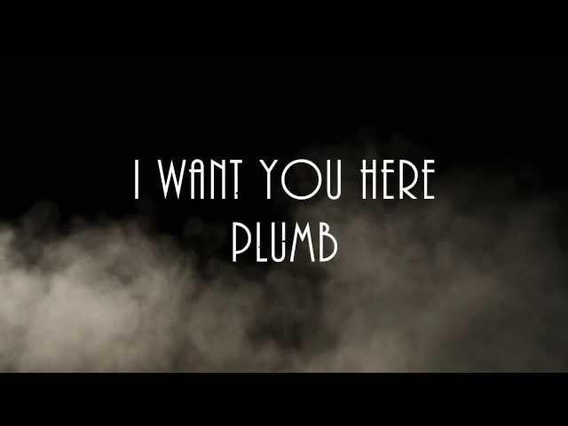 I WANT YOU HERE-PLUMB