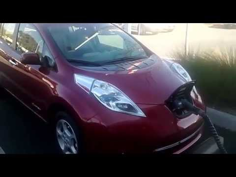 nissan leaf 2014 charging time youtube. Black Bedroom Furniture Sets. Home Design Ideas