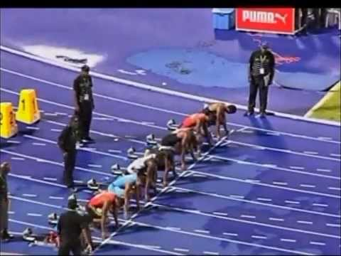Jamaica Olympic Trials Yohan Blake Beats Bolt and Asafa in 9:75 100m Finals W/L  june 30,2012)
