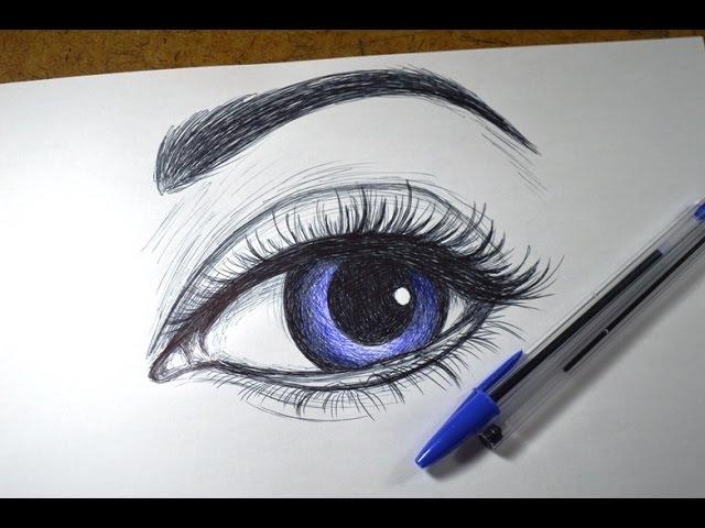 Aprenda Desenhar olhos 2