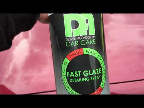 Detailing addicts car care fast glaze detailing spray product review