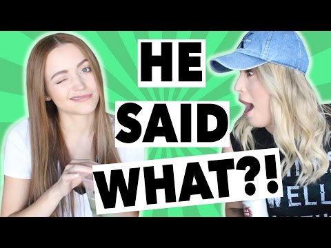 RIDICULOUS LIES GUYS HAVE TOLD ME (PART 2) W/ KATHLEENLIGHTS