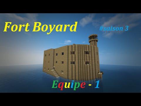 Emission Fort Boyard Minecraft Saison 3 - Equipe 1