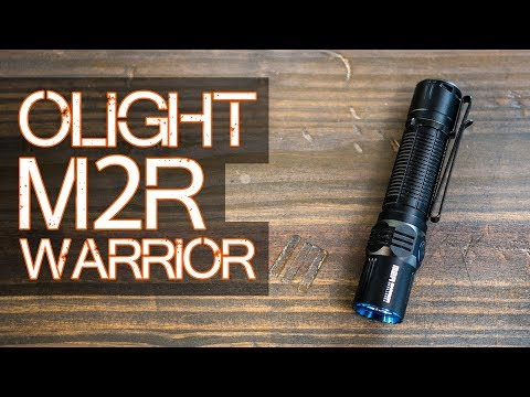 Olight M2R Warrior - Is it the ONE EDC flashlight to rule th