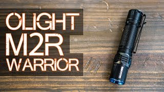 Gambar cover Olight M2R Warrior - Is it the ONE EDC flashlight to rule them ALL?