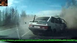 ДТП 2016 лето проверка автомобилей на прочность  !!