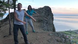Floss dance #3. Bolshiye koty, Baikal. Большие коты, Байкал. Take on me challenge