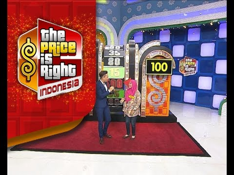 Ibu Irna mendapatkan nilai tertinggi di babak Big Wheel! - The Price Is Right Indonesia