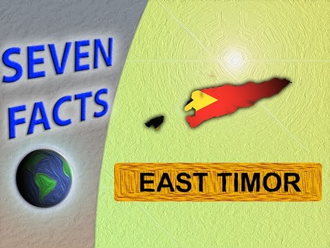 7 facts about East Timor