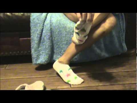 Milf sock fettish
