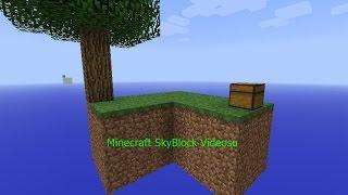 Minecraft Skyblock Oynamayı Bilmeyenler İçin Gösterim Öğretim