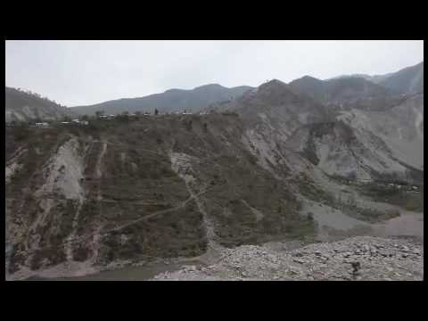 Driving to Greg Mortenson's schools through mountains in Kashmir