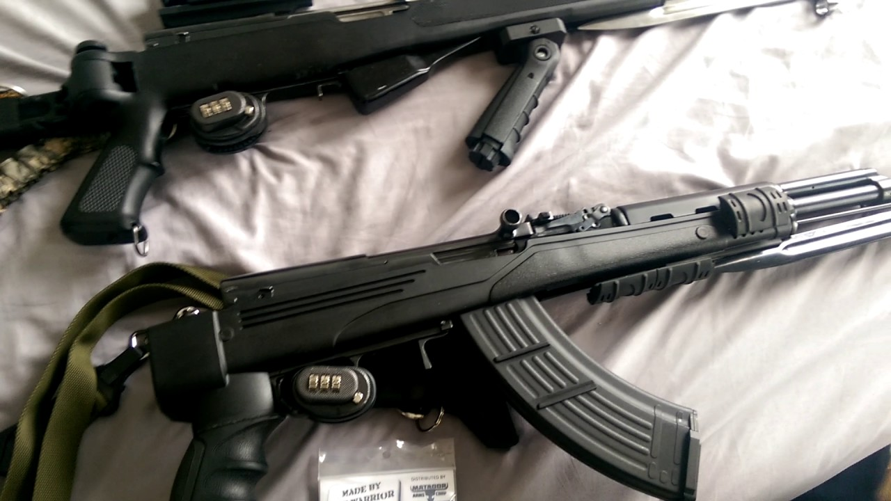 SKS-KD  Part 6  Quick mag release from CNC warrior-DO NOT BUY!
