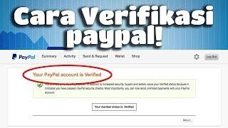 Solusi verifikasi Paypal Bagi yang Gak punya Kartu Kredit