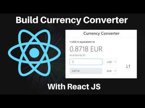 Build A Real Time Currency Converter With React JS