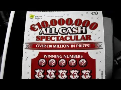 €10 All cash spectacular from Irish National Lottery (#91)