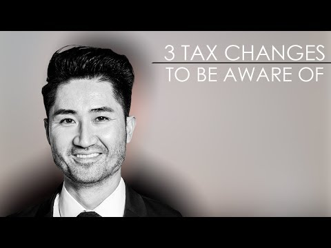 San Francisco Real Estate Agent: 3 Tax Changes to Be Aware Of