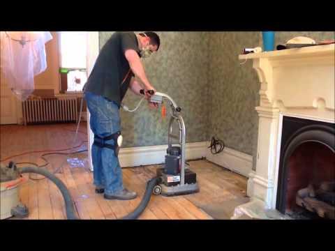 Refinishing 100 Year Old Wood Floor