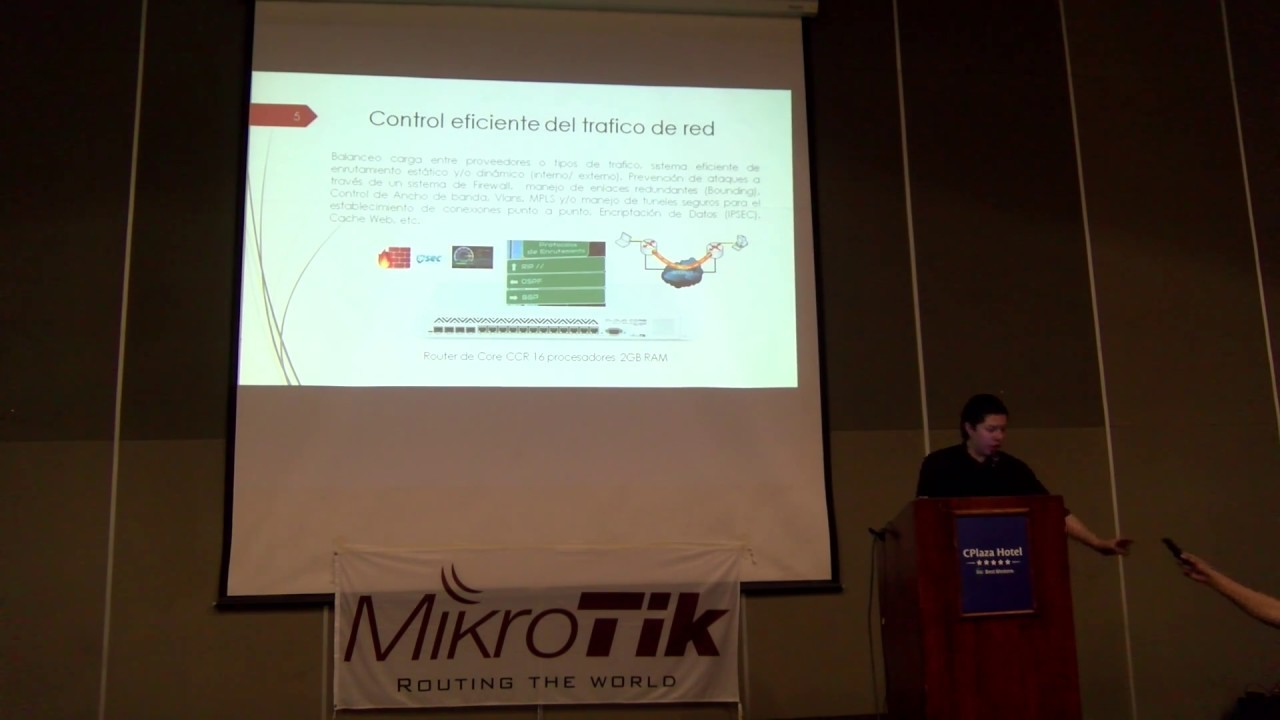 Gpon and tripple play services running in a MikroTik Core Network