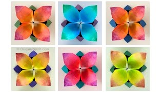 Origami Flower (Hollow Petal) :: UPDATED TUTORIAL