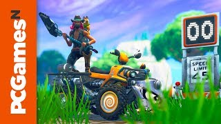 All Fortnite Radar Signs: where to record a speed of 27 or more