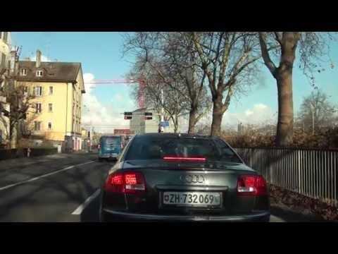 Driving in Zürich / Switzerland/ 11.2012/ 1080p HD