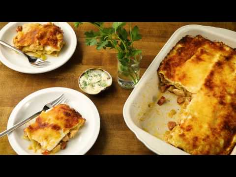 Mashup Recipes - How to Make Cajun Chicken Lasagna