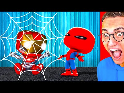 Reacting To WORLD'S FUNNIEST SUPERHERO ANIMATIONS