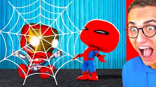 Download Reacting To WORLD'S FUNNIEST SUPERHERO ANIMATIONS Mp3 and Videos