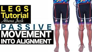 Athena Jezik - Passive Movement Into Alignment - Legs Tutorial