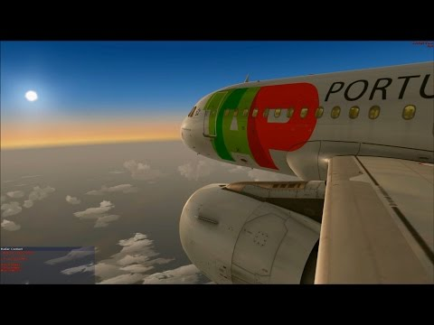 [FSX] TAP A319 from Lisbon to Madeira