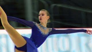 Произвольная программа. Девушки. Riga Cup. Гран-при по фигурному катанию среди юниоров 2019/20