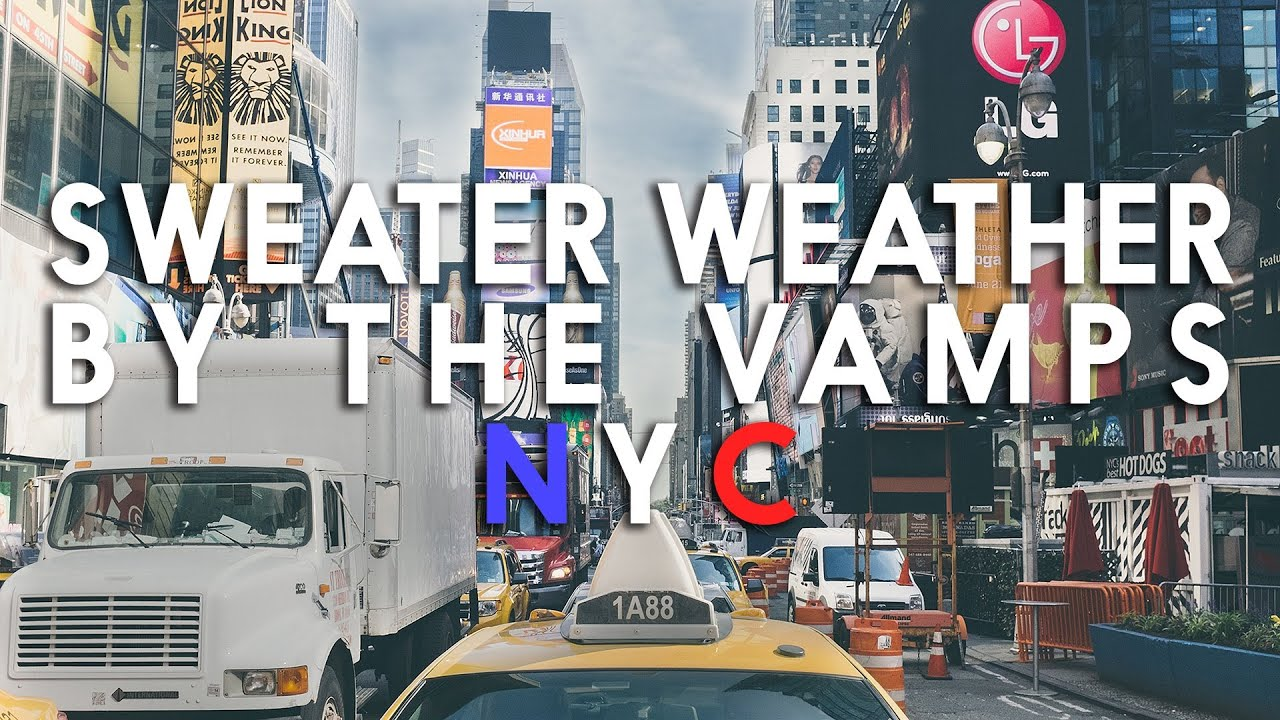 Sweater Weather  - The Neighbourhood (Cover Teaser By The Vamps)
