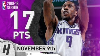 Iman Shumpert Full Highlights Kings vs Timberwolves 2018.11.09 - 17 Points!