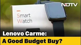 Lenovo Carme: A Smartwatch That Has It All?
