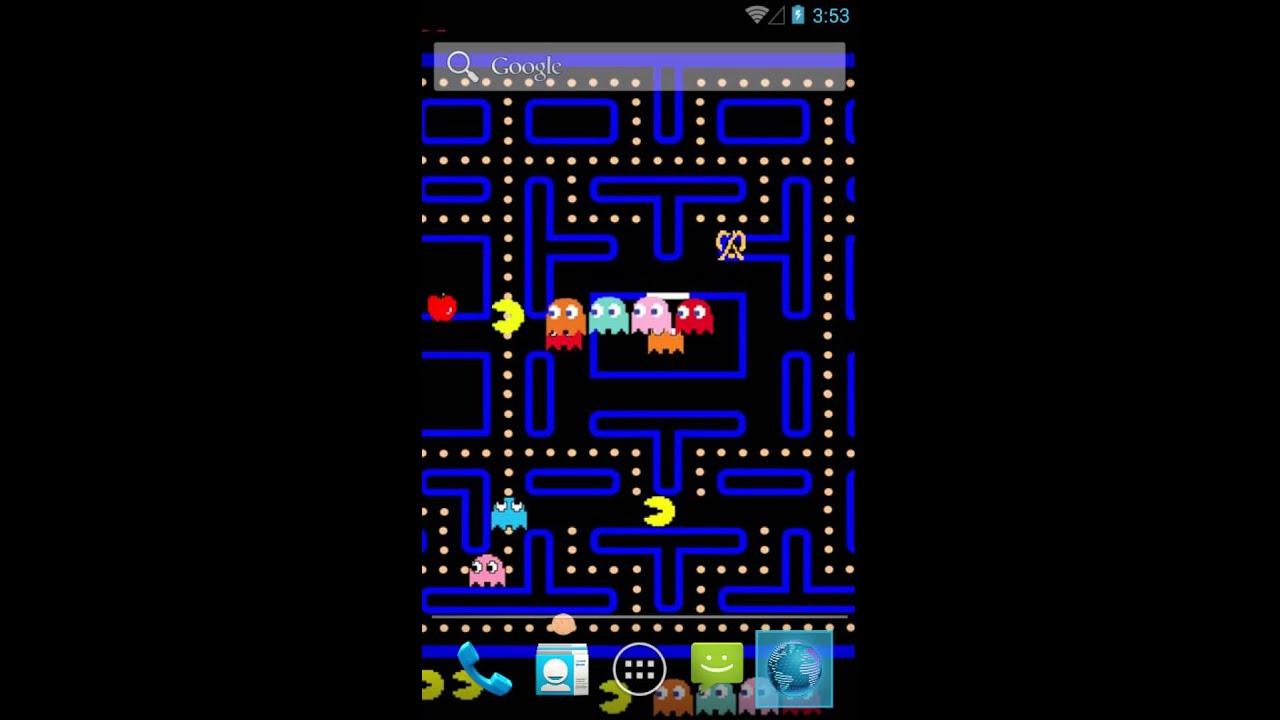 Pac-Man Fever Retro Live Wallpaper - YouTube