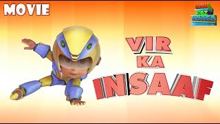 Vir : The Robot Boy | Vir Ka Insaaf | Action Movie for kids | WowKidz Movies