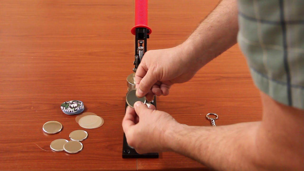 How to Use Your Button Maker to Make a Key Chain Button