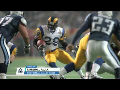 Marshall Faulk tells story of when he was almost traded to Baltimore.