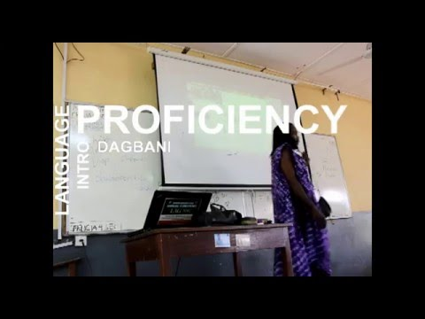INTRO TO AFRICAN LANGUAGES OVERVIEW (DAGBANI)