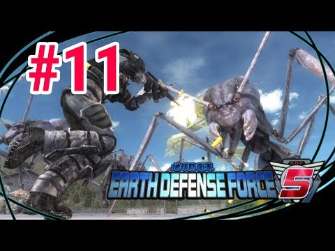 [Episode 11] Earth Defense Force 5 PS4 Gameplay [Rockman's Roughnecks!] thumbnail