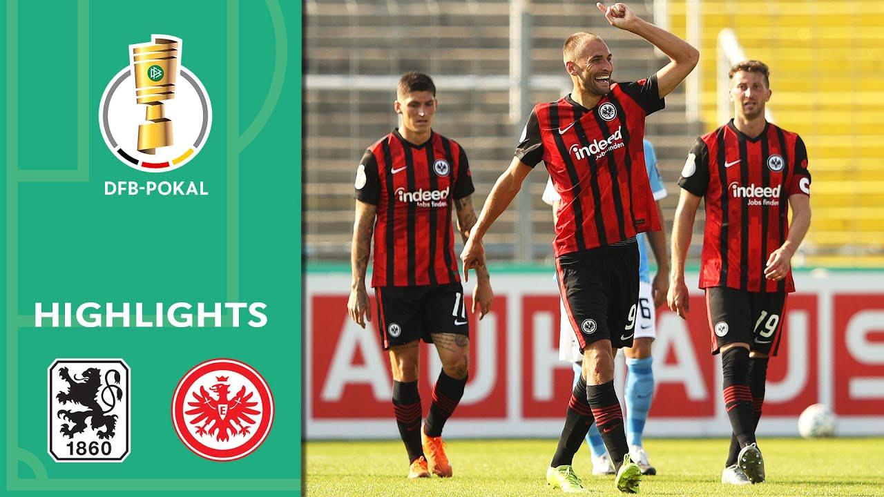 Мюнхен 1860  1-2  Айнтрахт Франкфурт видео