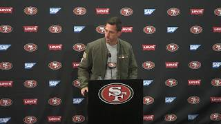 Shanahan on Witherspoon throwing hands up after blown coverage: 'Man up'
